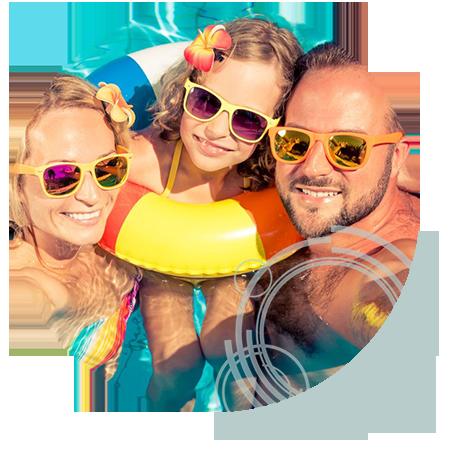 Óculos de sol com proteção UV são recomendados