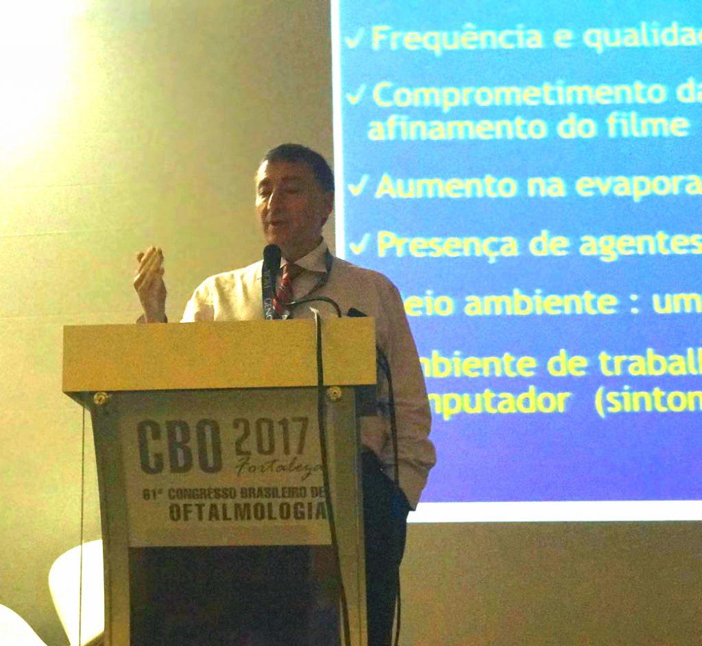 Dr. César Lipener participou do 61º Congresso Brasileiro de Oftalmologia